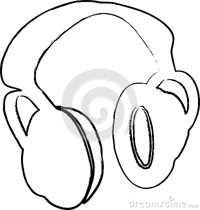 Headphones  illustration