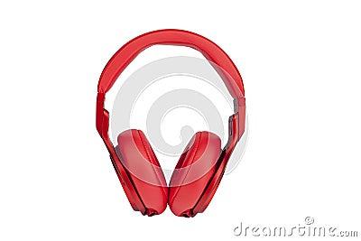 Headphones on white backgroun