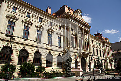 Headquarters of the National Bank of Romania Editorial Stock Photo