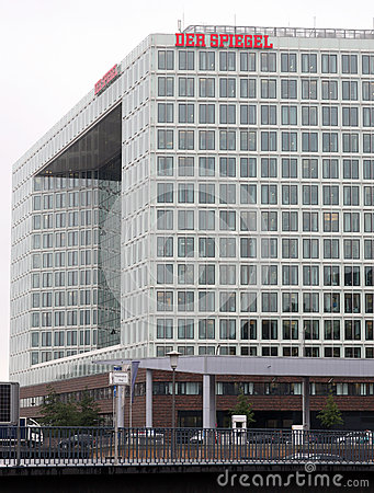 Headquarters of Spiegel weekly Editorial Photo