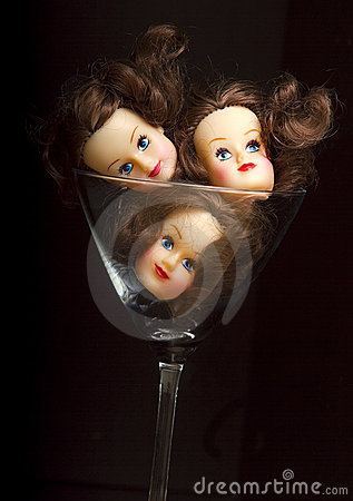 Heads in A Glass