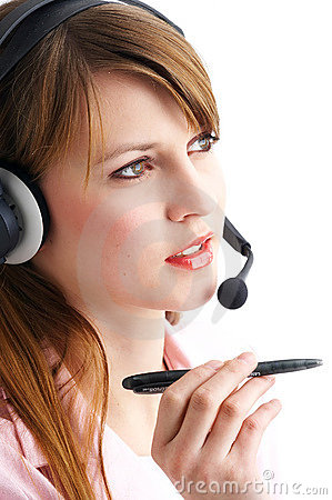 Free Headset Royalty Free Stock Photos - 584548