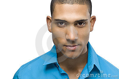 Headshot of a African American male