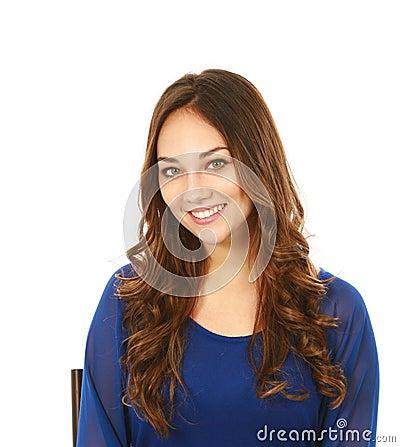 Headshot of beautiful young woman
