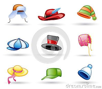 Headwear: cap, hat
