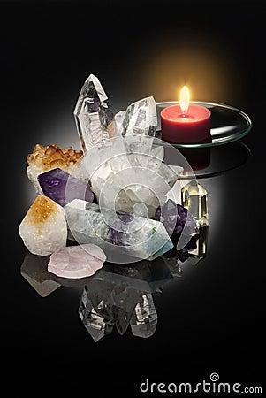 Free Healing Crystals Stock Photos - 26386943