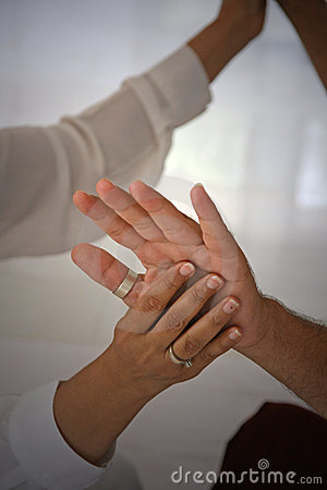 Free Healing Hands Of Love Stock Photography - 2405712
