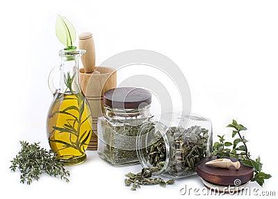 Healing herbs and edible flowers 2