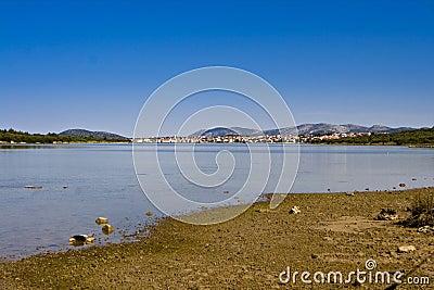 Healing mud of the Ivinj shore