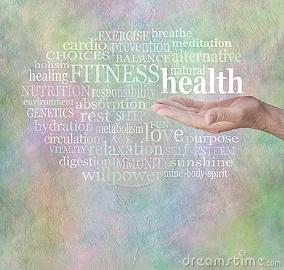 Free Health And Fitness Word Wall Stock Photos - 49565843