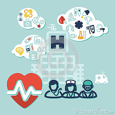 Health background
