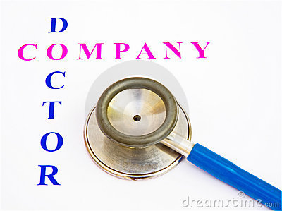 Health check by company doctor.