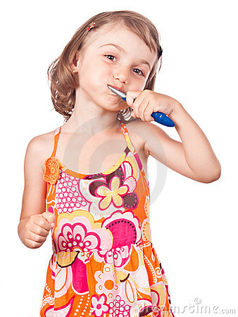 Health child hygiene brush teeth
