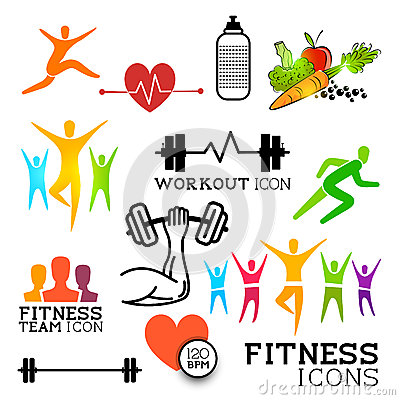 Health & Fitness Icons