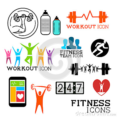 Health and Fitness symbols
