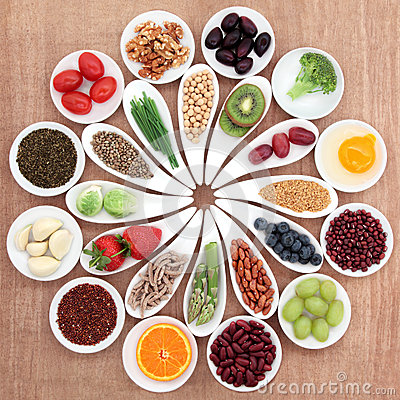 Health Food Platter Royalty Free Stock Image - Image: 32243866