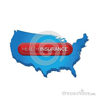 Health insurance button