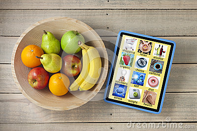 Health App Apps Diet Fruit Technology
