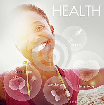 Free Health Wellbeing Wellness Vitality Healthcare Concept Royalty Free Stock Photos - 75526318