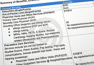 Healthcare Benefits Summary