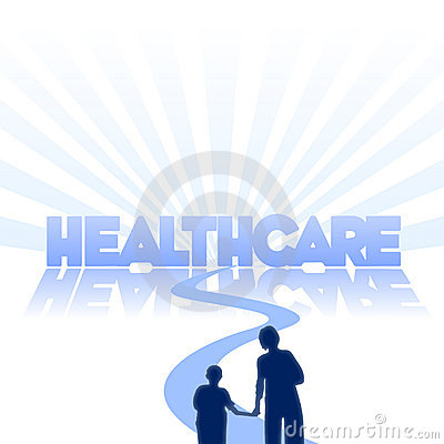 Healthcare commercial background