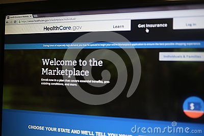 HEALTHCARE.GOV Editorial Stock Photo - Image: 43420543 Marketplace Healthcare Gov Site