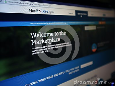 HEALTHCARE.GOV Editorial Stock Photo - Image: 43420533 Marketplace Healthcare Gov Site