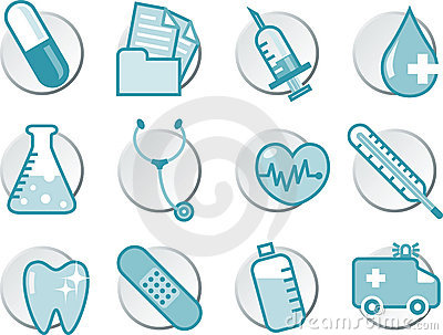 Healthcare icon set