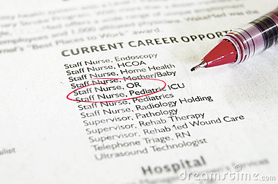 Healthcare Jobs Royalty Free Stock Photography - Image: 24449427