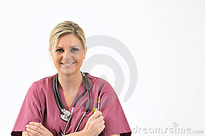Healthcare - nurse with needle