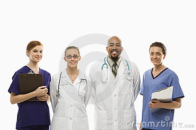 Healthcare workers portrait