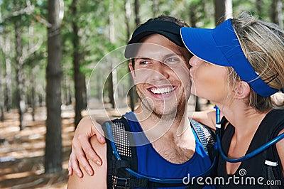 Healthy active couple