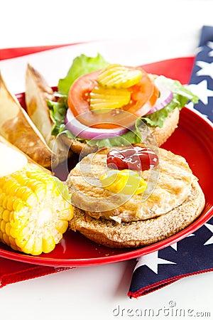 Healthy American Picnic