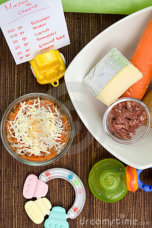 Healthy baby food recipe