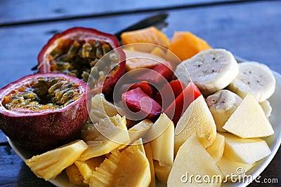 Healthy Breakfast - Fruit Plate