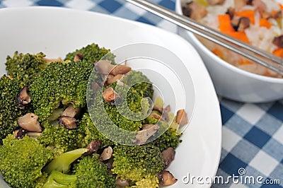 Healthy broccoli delicacy