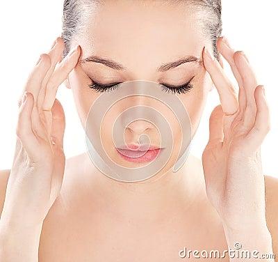 Healthy clean skin