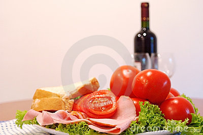 Healthy Dinner Stock Photo - Image: 306180