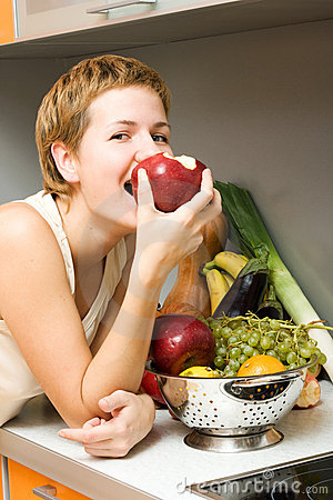 Free Healthy Eating Royalty Free Stock Photo - 4019415