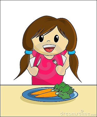 Healthy Eating - Girl