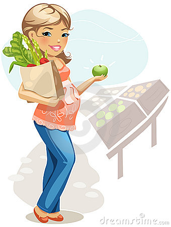Healthy eating for pregnant woman