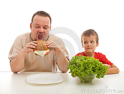 Healthy eating - teaching by example