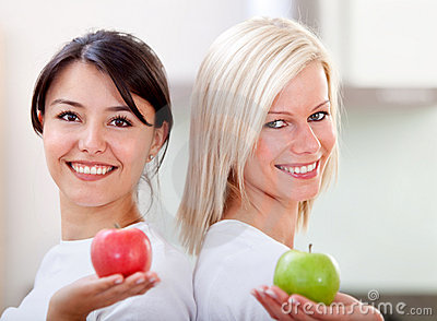 Healthy eating women