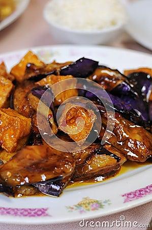 Healthy eggplant delicacy