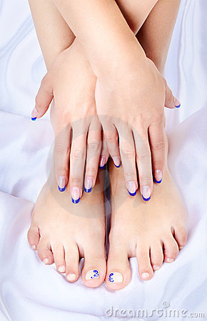 Healthy feet and hands