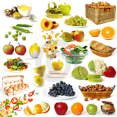 Free Healthy Food Collection Royalty Free Stock Photography - 6792437