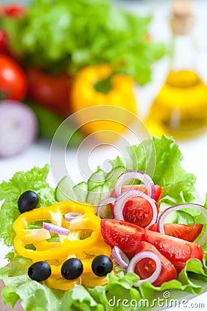 Free Healthy Food Fresh Vegetable Salad Stock Images - 19215524