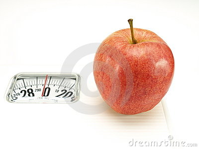 Healthy food, nutrition and fruits – apple