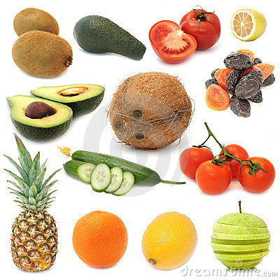 Healthy Food Set - Fruits and Vegetables
