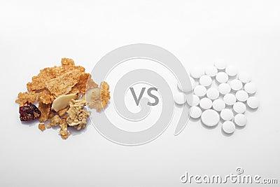 Healthy food versus drug